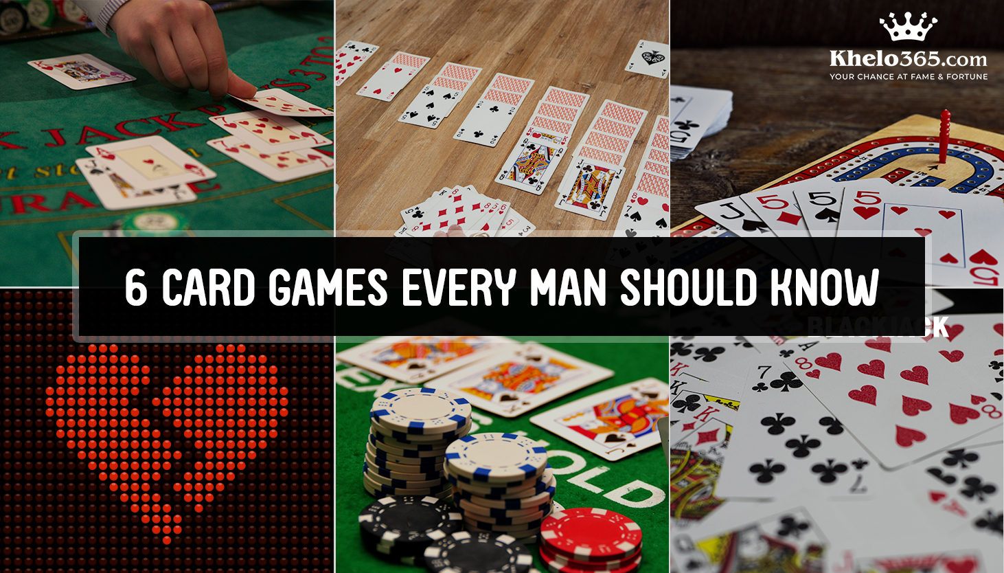 6 Card Games Every Man Should Know