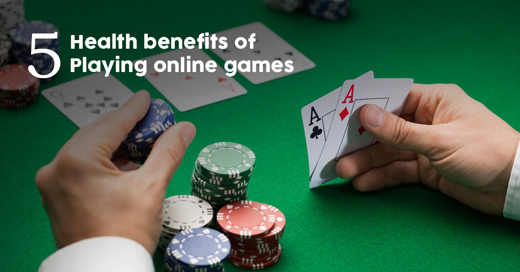 Five medical advantages of playing internet games