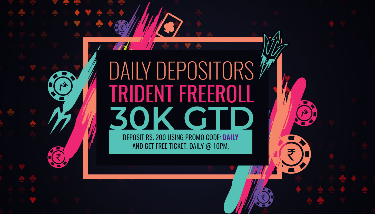Daily Depositor Freeroll